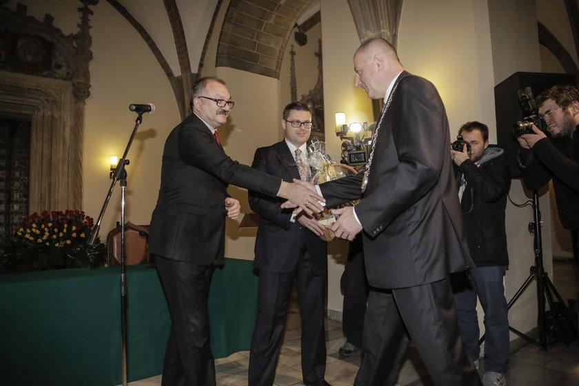Zaprzysiężenie Raała Dutkiewicza na prezydenta Wrocławia IV kadencji