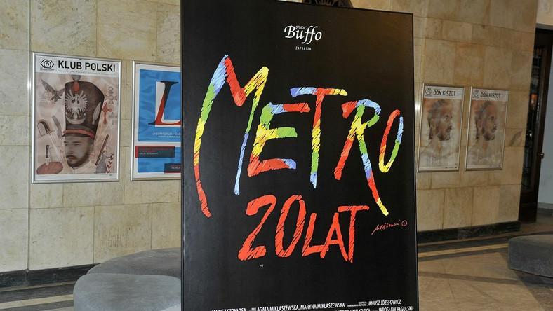 """Musical """"Metro"""" ma już 20 lat"""