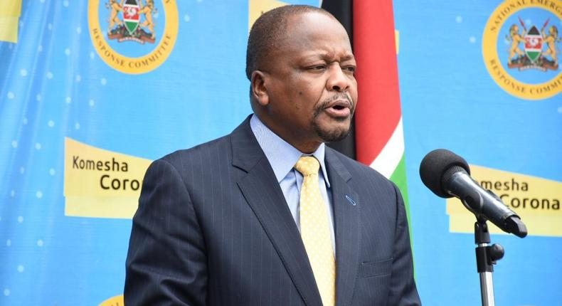 Health CS Mutahi Kagwe