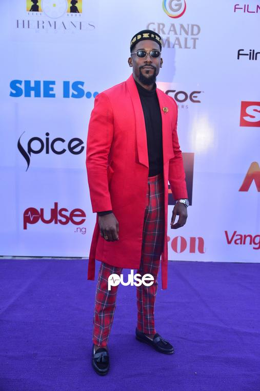 Mawuli Gavor looking dapper at 'She Is' movie premiere [PULSE]