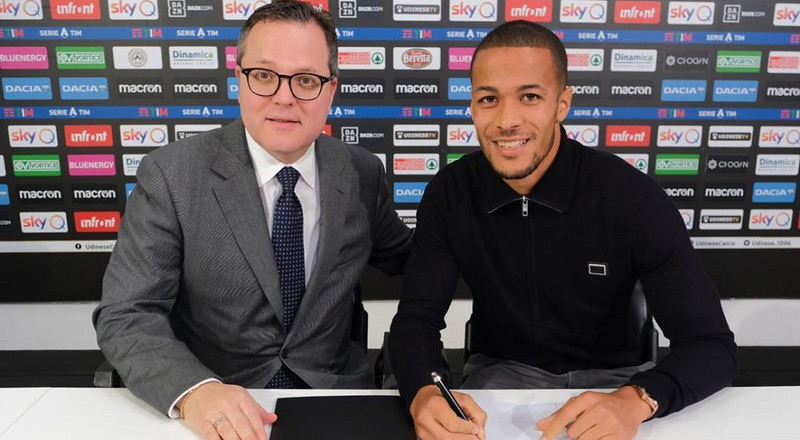 Super Eagles defender William Troost-Ekong signs contract extension with Udinese