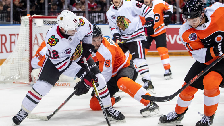 NHL: Philadelphia Flyers wygrali z Chicago Blackhawks