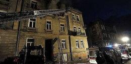 Koszmarny pożar. Wybuch zmiótł płonącego lokatora z balkonu