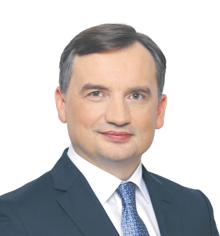 Zbigniew Ziobro, minister sprawiedliwości  fot. Ministerstwo Sprawiedliwości