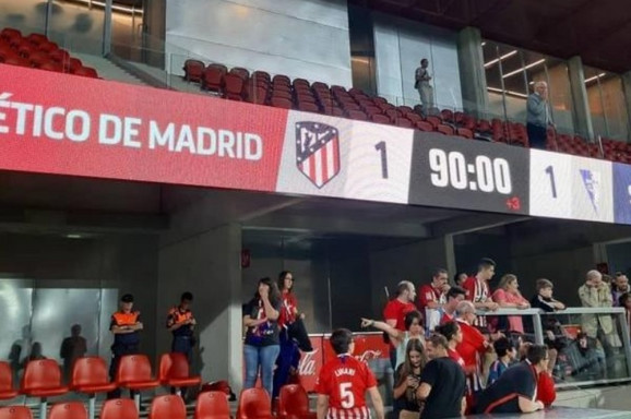 Nakon meča u Madridu u kome su fudbalerke Atletika i Spartaka iz Subotice igrale 1:1