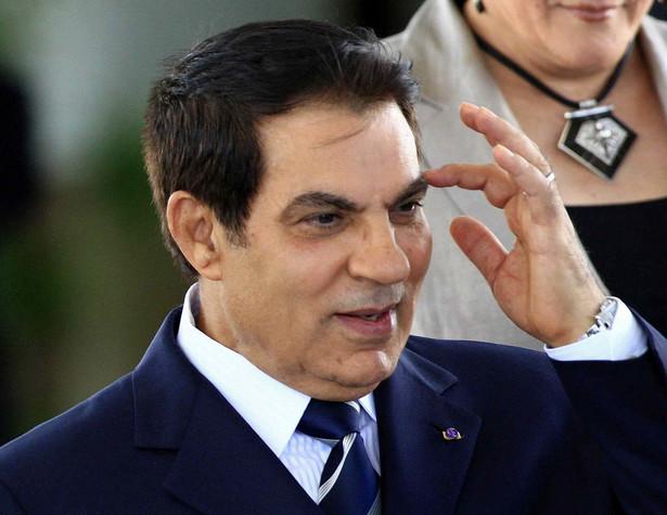 Byly prezydent Tunezji - Ben Ali