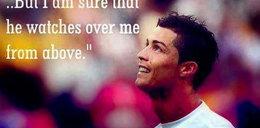 Wzruszająca wiadomość Cristiano Ronaldo. Wysłał ją do zmarłego ojca!