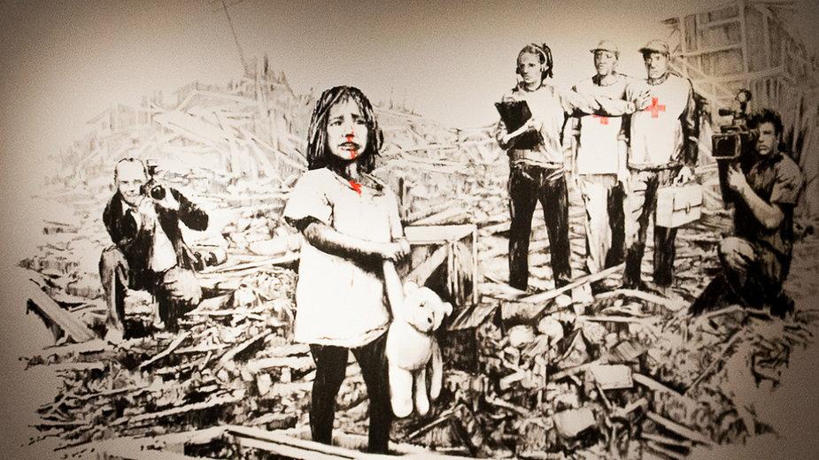 """Wystawa """"The Art of Banksy. Without Limits"""" już 12 lutego zagości w Warszawie"""