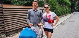 Radwańska z mężem i synem. Pierwsze takie zdjęcie