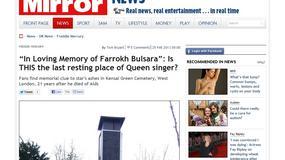 Freddie Mercury: po 21 latach odnaleziono grób artysty?