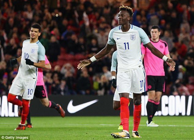 Tammy Abraham has turned down the chance to play for Nigeria several times
