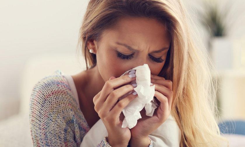 Nasilenie kataru lub kaszlu zależy od bakterii w nosie