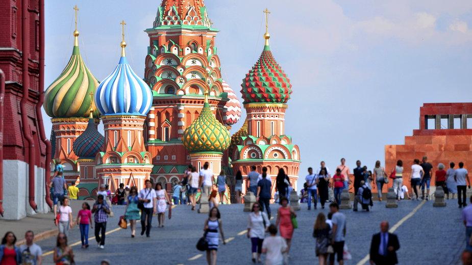 Plac Czerwony, Moskwa, Rosja