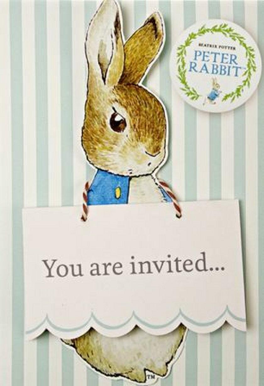 Zaproszenie na urodziny księcia Jerzego