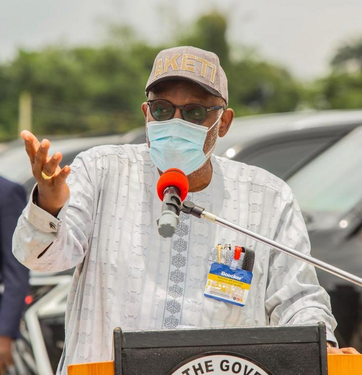 Ondo state Governor, Oluwarotimi Akeredolu. [Twitter/@RotimiAkeredolu]