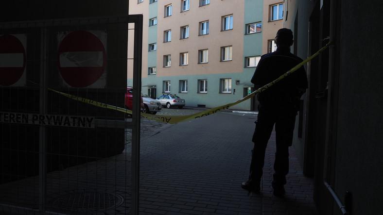 Tarnow.  Crime scene