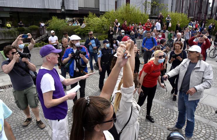 Ljubljana slovenija protest