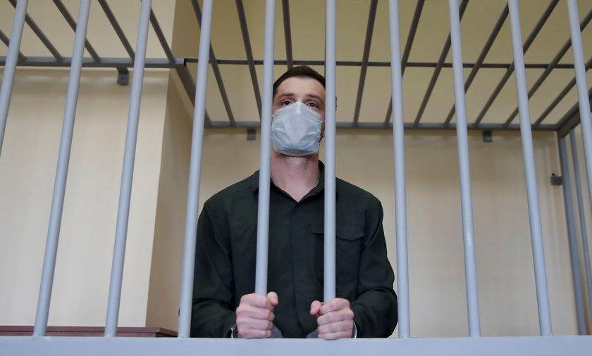 Amerykanin Trevor Reed skazany za pobicie policjanta. Zapadł wyrok