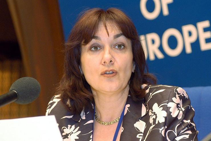 hrvatski poslanici eu parlament01 Dubravka Šuica licenca Wikipedia autor Council of Europe
