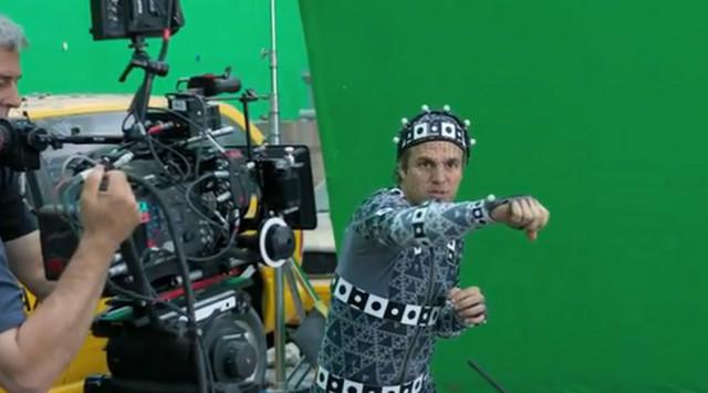 """Mark Rafalo nosio je odelo da bi izgledao kao Hulk u filmu """"Osvetnici"""".."""