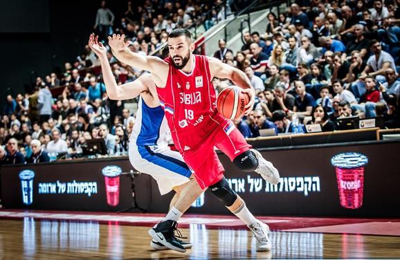 Branko Lazić na meču Izrael - Srbija