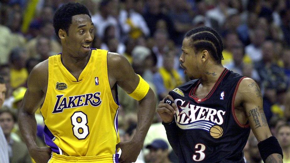 Kobe Bryant i Allen Iverson