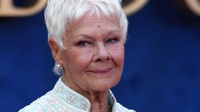 Judi Dench cała w bieli na premierze filmu. Wygląda na 82 lata?