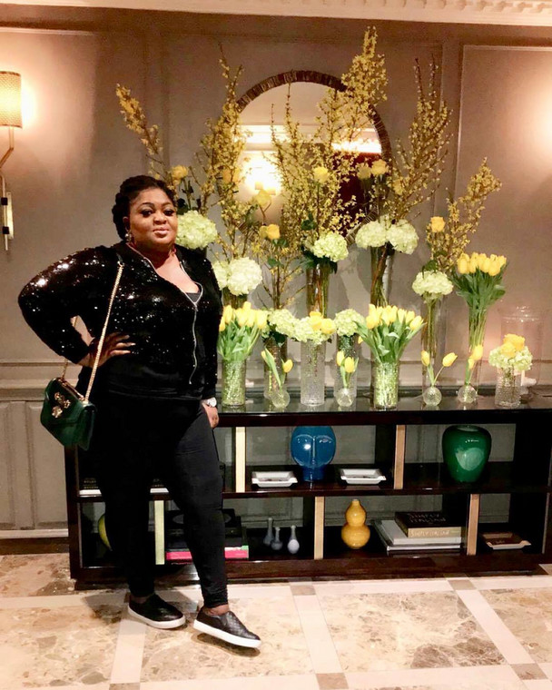 The truth is lately Eniola Badmus has giving fans, followers and even critics mixed signals about her mental health [Instagram/EniolaBadmus]