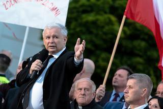 Jarosław Kaczyński: Nie paliłem kukły Lecha Wałęsy