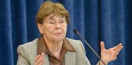 Legendarna opozycjonistka dosadnie o PiS: uznali, że prezydent nie istnieje
