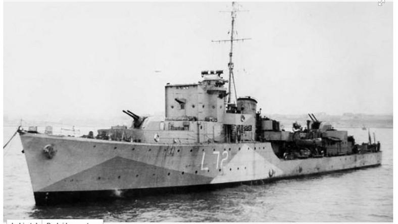 """Sukcesem zakończyła się ekspedycja """"The Hunt for L72"""", której celem było odnalezienie wraku polskiego niszczyciela ORP Kujawiak"""