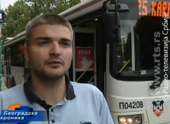 Vozač autobusa Aleksandar Lalević