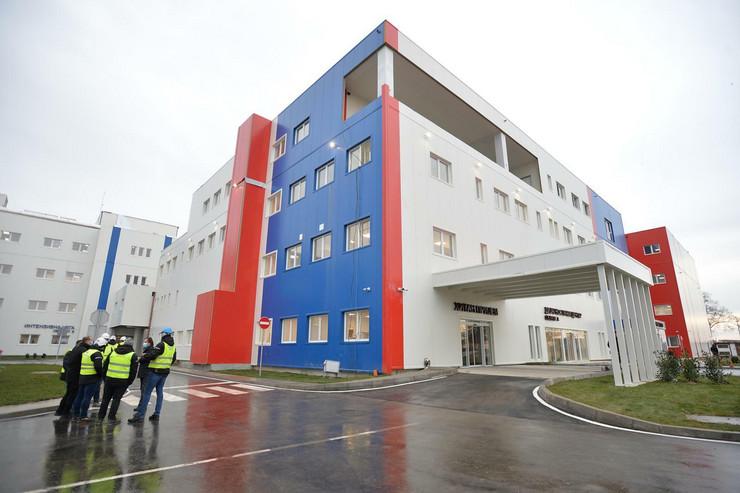Otvaranje kovid bolnice u Batajnici