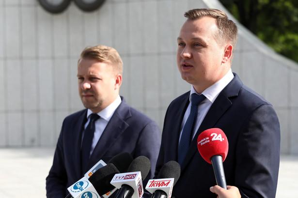 Jacek Ozdoba i Mariusz Kałużny