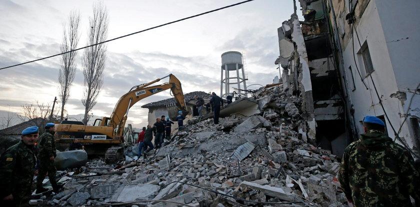 Trzęsienie ziemi w Albani. Rośnie liczba ofiar