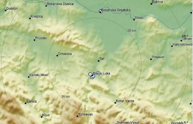 Banjaluka zemljotres