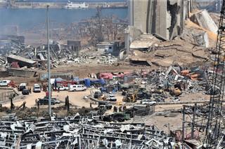 135 zmarłych, wielu ludzi nadal nie odnaleziono. Najnowszy bilans eksplozji w Bejrucie
