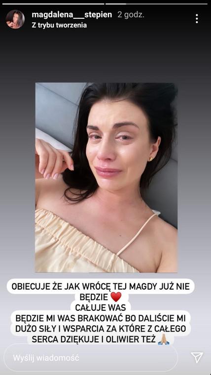 Magdalena Steffi dengan air mata berlinang: Ayah dari anakku telah menghancurkanku sepenuhnya