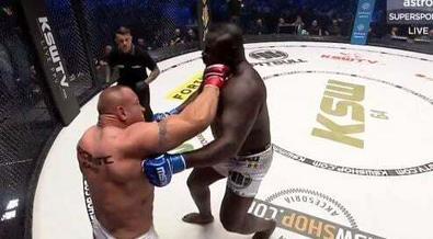 MMA: Pudzianowski met Bombardier K.O en 18 secondes