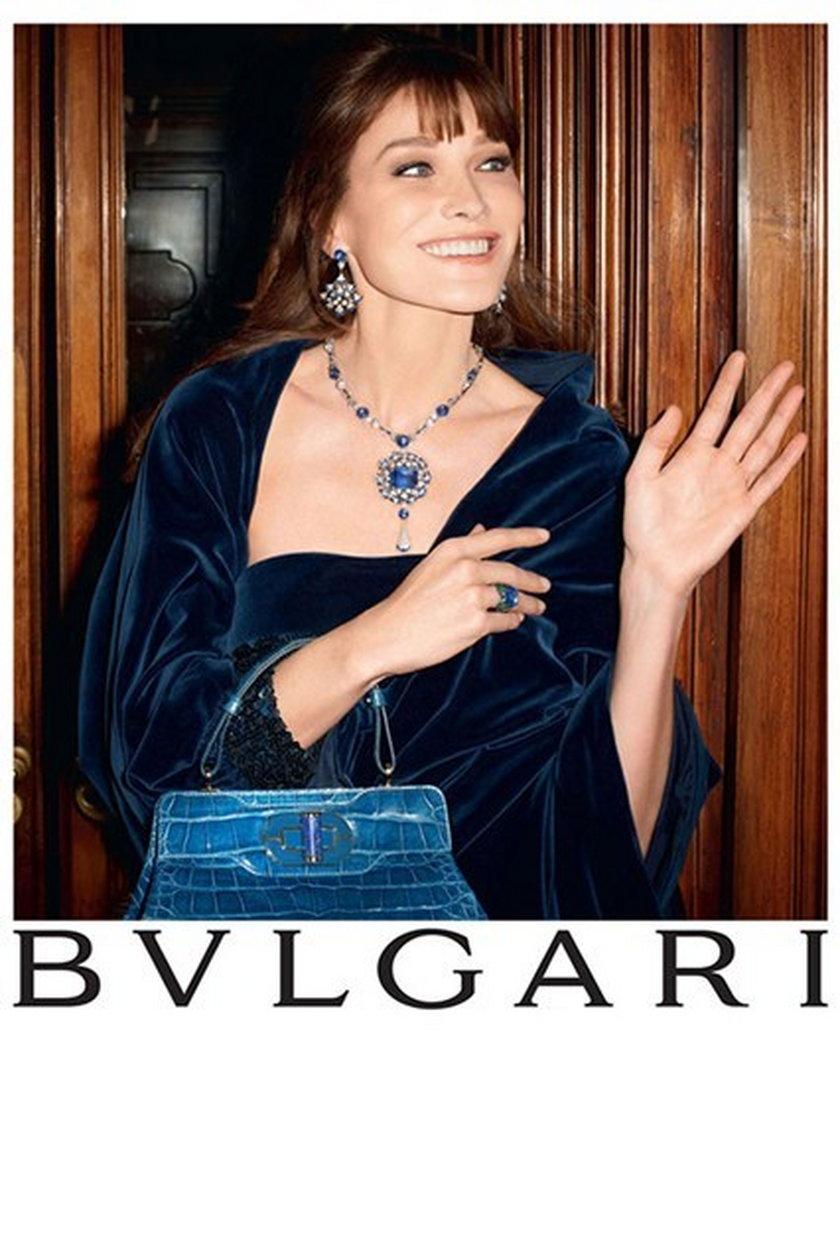 Carla Bruni dla Bulgari