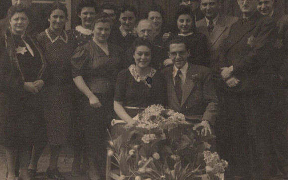 Edi de Wind se venčao s Fridl, koju je upoznao u logoru