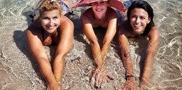 Skrzynecka ugościła koleżanki w Grecji