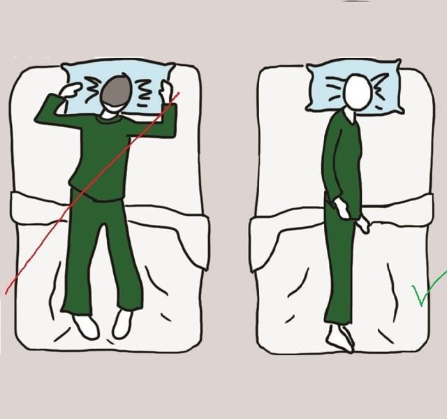 lefogy alvási helyzet)