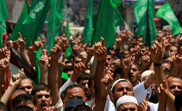 Protesty w Jerozolimie. Fot. EPA/MOHAMMED SABER