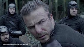 """Występ Davida Beckhama w filmie """"Król Artur: Legenda miecza"""" został wyśmiany"""