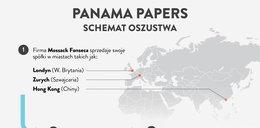 Tak unikali podatków - Panama Papers na jednym obrazku
