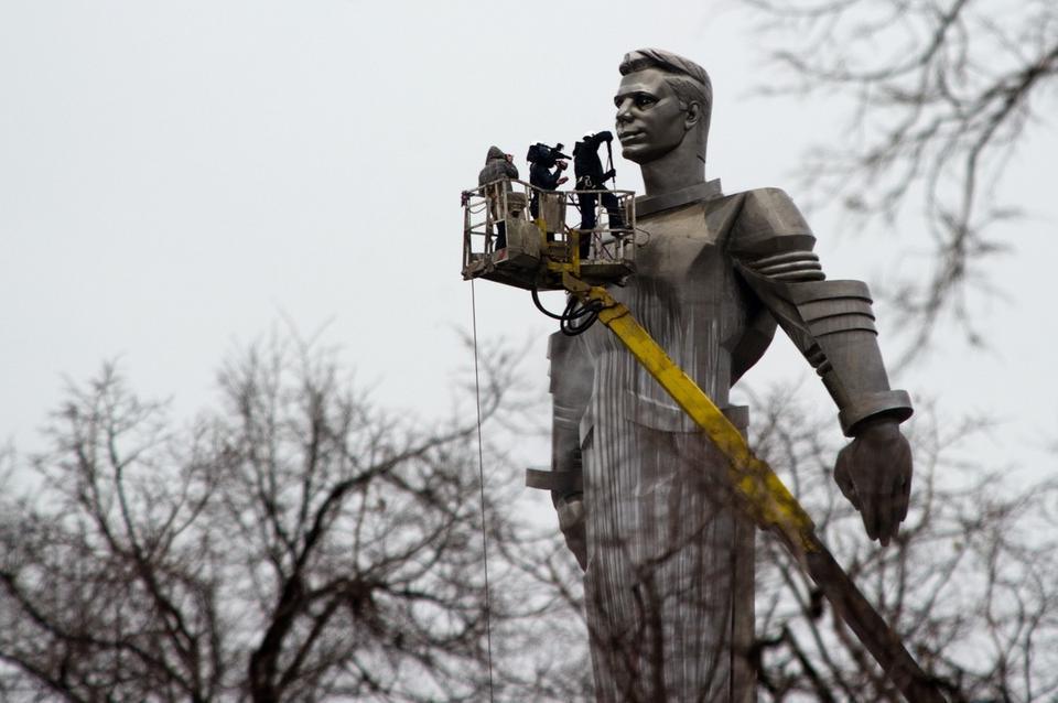 Pomnik Jurija Gagarina w Moskwie