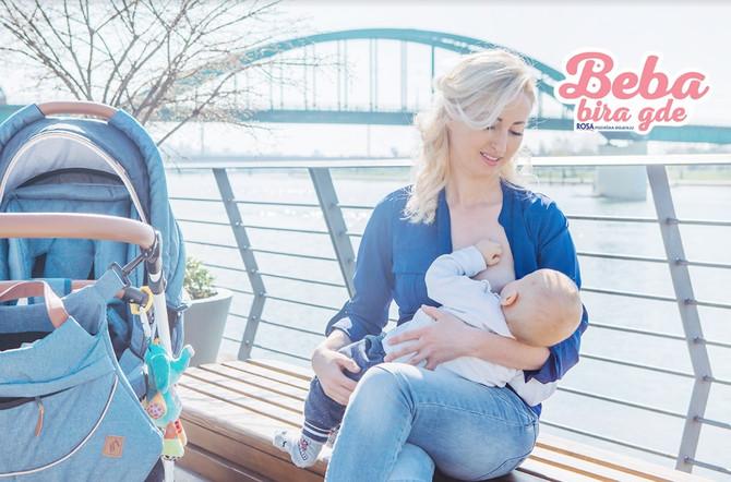 Dojenjem se bebi pruža hrana, ali i sigurnost