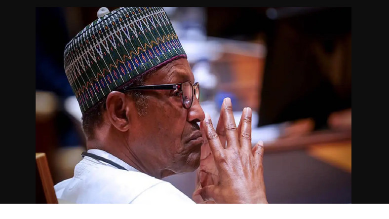 President Muhammadu Buhari commiserates with Amaechi, transportation minister, over brother's death. (Guardian)