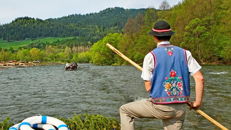 Spływ przełomem Dunajca to jedna z największych atrakcji Pienin